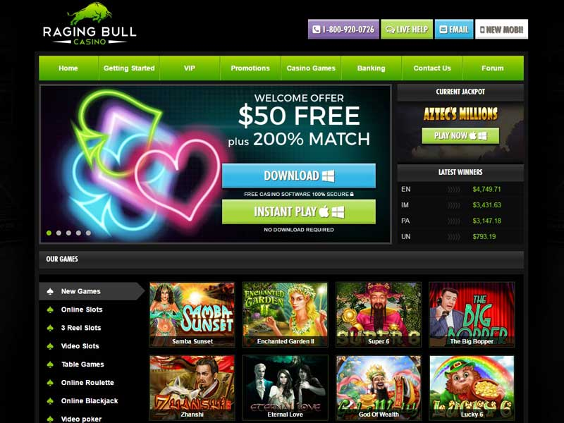 no deposit usa online casinos